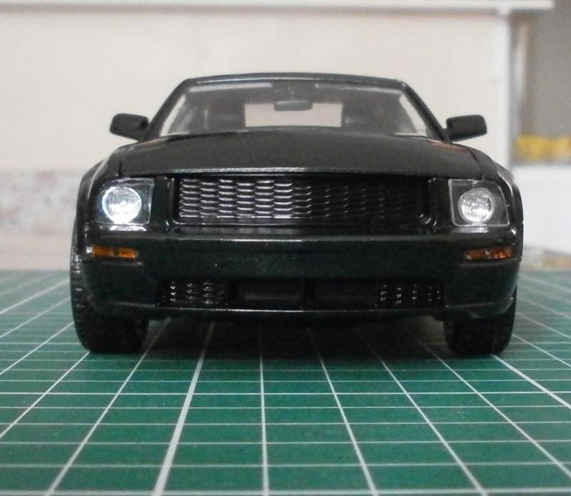 Mustang Bullit 2008 Mustan15