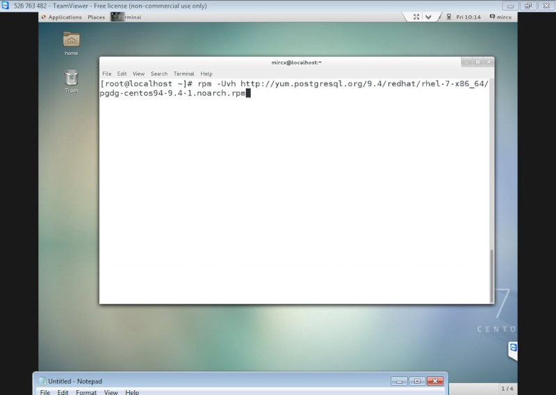 Guide Installing PostgreSQL 9.4 And phpPgAdmin In CentOS 7 12-06-10