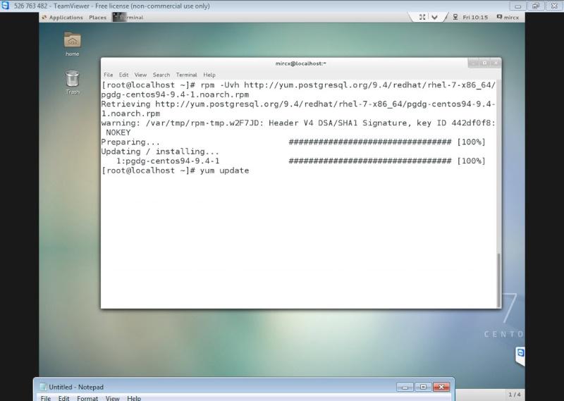 Guide Installing PostgreSQL 9.4 And phpPgAdmin In CentOS 7 12-06-11