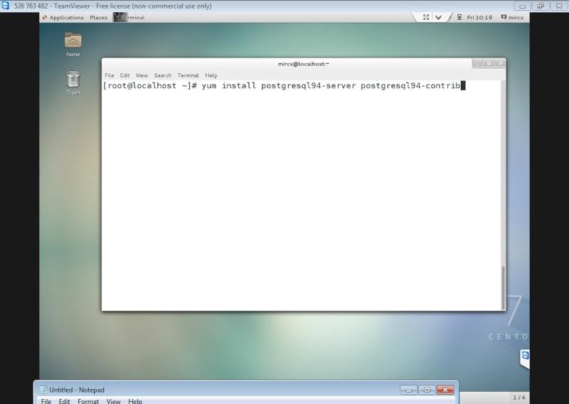 Guide Installing PostgreSQL 9.4 And phpPgAdmin In CentOS 7 12-06-12