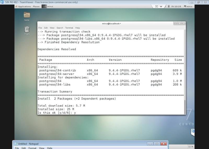 Guide Installing PostgreSQL 9.4 And phpPgAdmin In CentOS 7 12-06-13