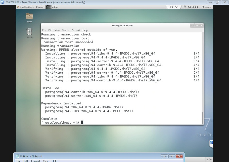 Guide Installing PostgreSQL 9.4 And phpPgAdmin In CentOS 7 12-06-14