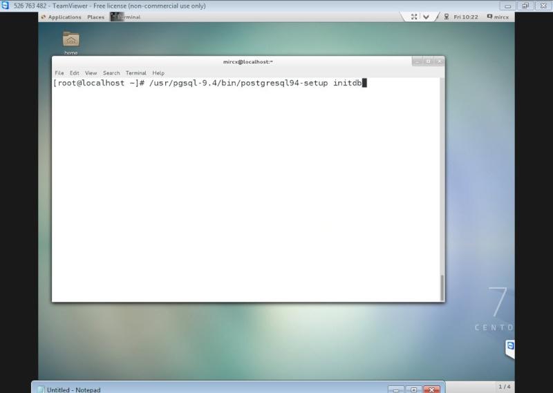 Guide Installing PostgreSQL 9.4 And phpPgAdmin In CentOS 7 12-06-15