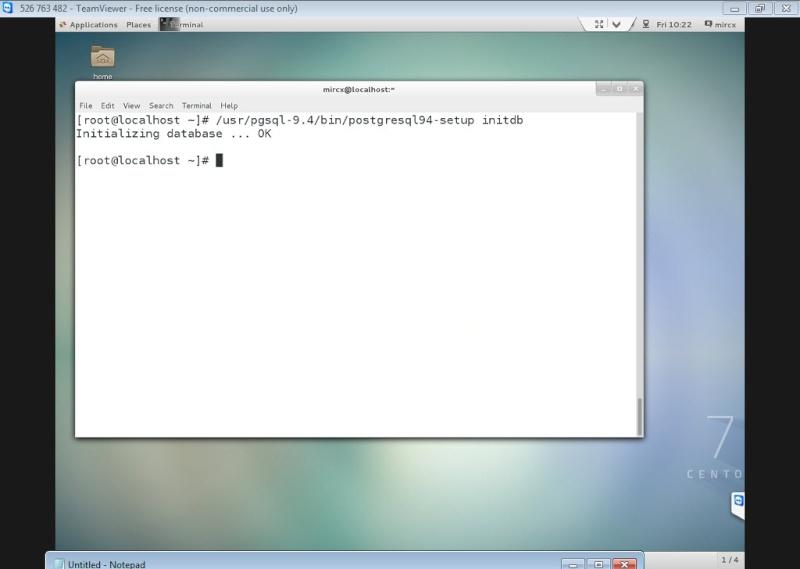 Guide Installing PostgreSQL 9.4 And phpPgAdmin In CentOS 7 12-06-16