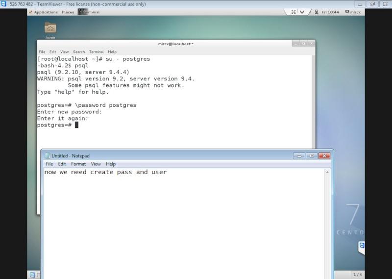 Guide Installing PostgreSQL 9.4 And phpPgAdmin In CentOS 7 12-06-20