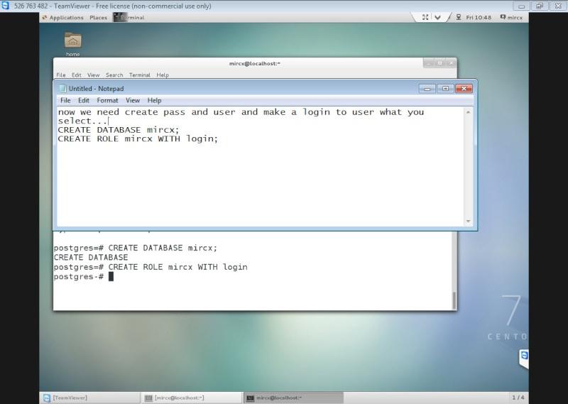 Guide Installing PostgreSQL 9.4 And phpPgAdmin In CentOS 7 12-06-21