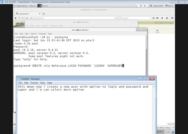 Guide Installing PostgreSQL 9.4 And phpPgAdmin In CentOS 7 13-06-11