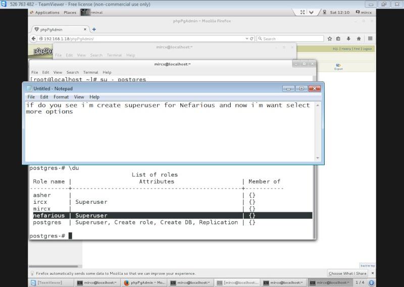 Guide Installing PostgreSQL 9.4 And phpPgAdmin In CentOS 7 13-06-12