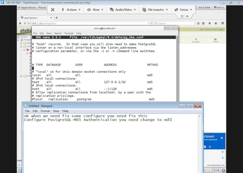 Guide Installing PostgreSQL 9.4 And phpPgAdmin In CentOS 7 13-06-15