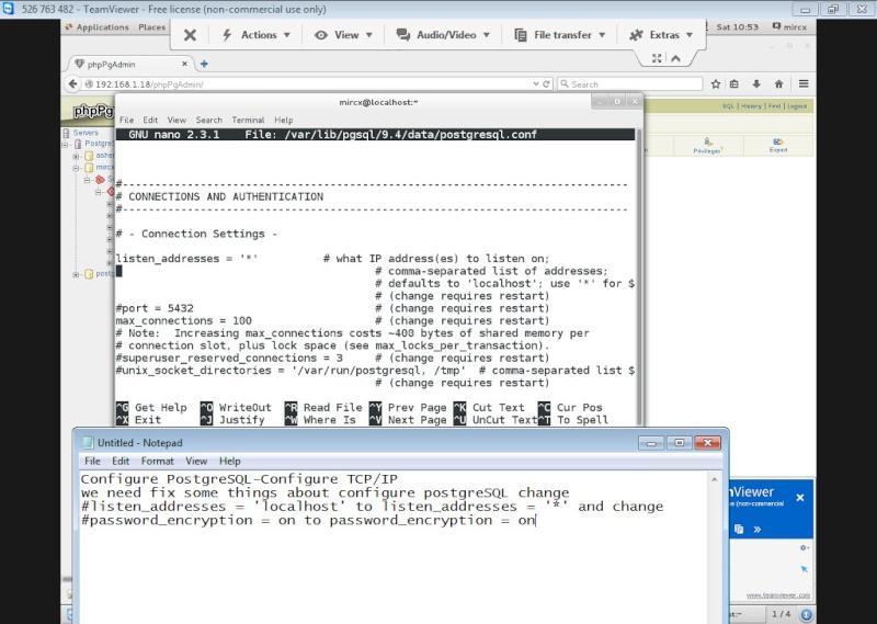 Guide Installing PostgreSQL 9.4 And phpPgAdmin In CentOS 7 13-06-17