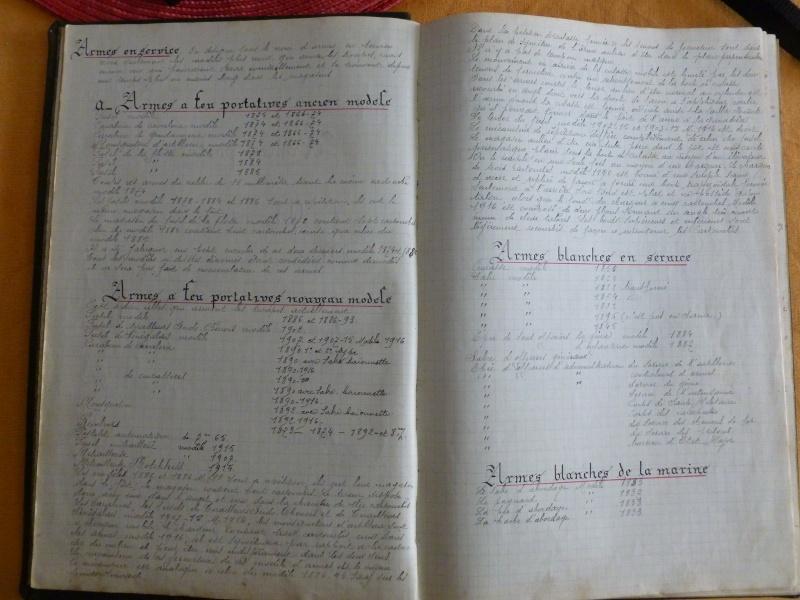 cherche socièté pour scanner un cahier d'armurier armée Française année 1921-22 P1010517