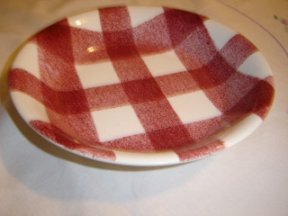 dinner - Checked pattern C.L. Tableware Soup_b10