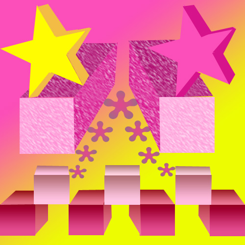 Assignment 24: two point perspective drawing Star_c10
