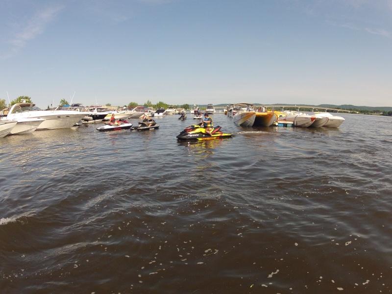 Rivière des Outaouais et Poker Run - 4 Juillet 03010