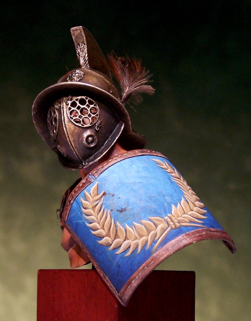 Gladiator bust by Massimilian Colombo 100_1510