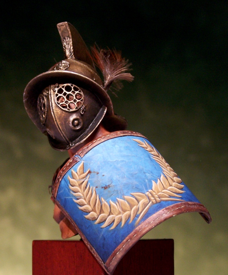 Gladiator bust by Massimilian Colombo 100_1511