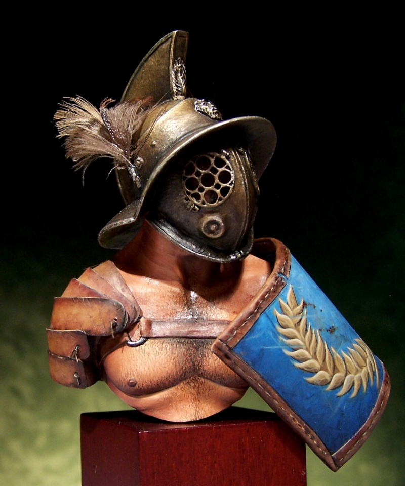 Gladiator bust by Massimilian Colombo 100_1514