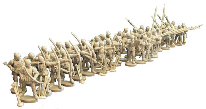 Perry-miniatures new set of 28mm Knights War_of14
