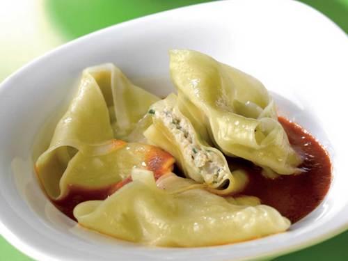 Base de cuisine : Recettes & Minceurs : Ravioles de Tourteau à la Ricotta Raviol10