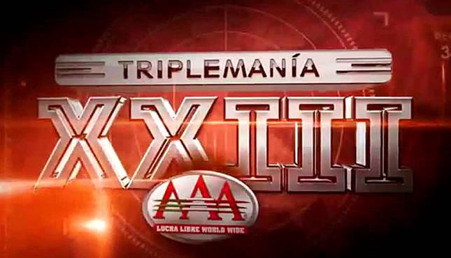 AAA TripleMania XXIII (Carte et Résultats) Triple11