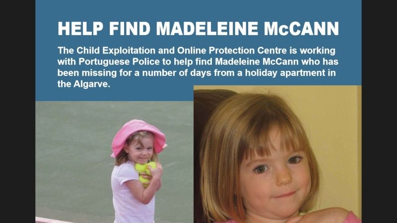 "Claim by 'Stevo' - ""CEOP show Maddie is missing on 30th April 2007"" - Page 3 Screen11"