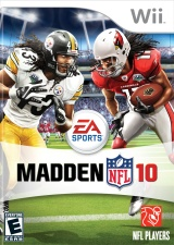 Madden 10 for Wii, Brand New, Sealed Madd_n10