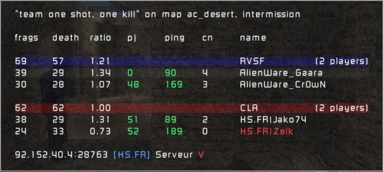 =AW vs HS.FR| 20100110