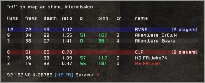 =AW vs HS.FR| 20100111