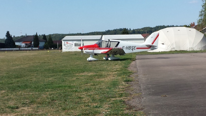 Aerodrome Epinal-Dogneville (LFSE) 20150814