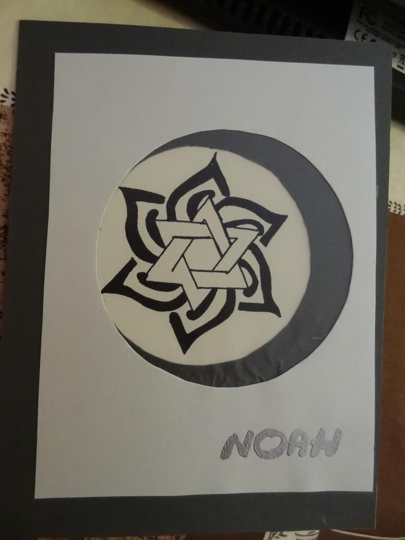 Carte pour Noah qui adore les étoiles Dsc07614
