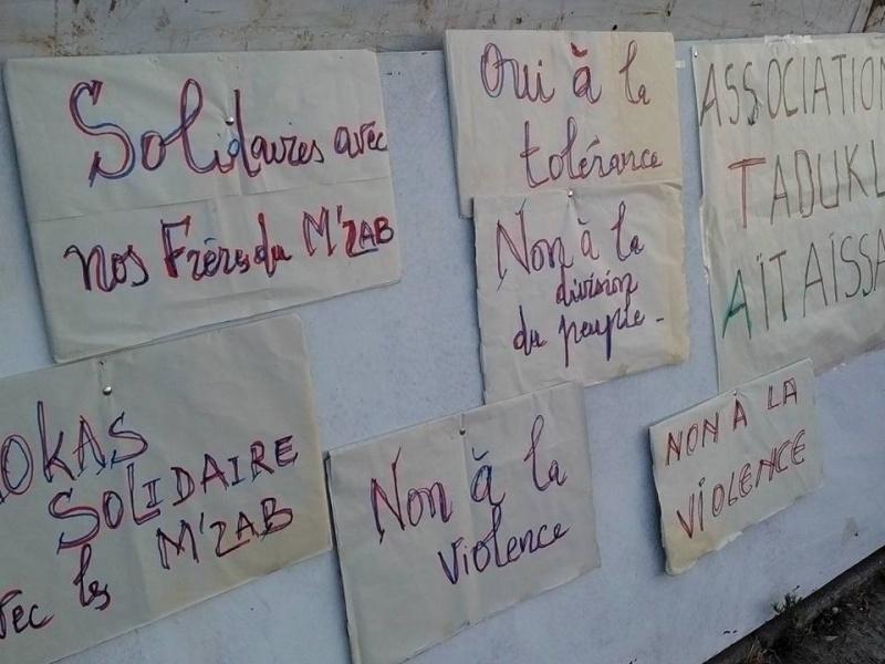 NON A LA VIOLENCE A GHARDAIA 592