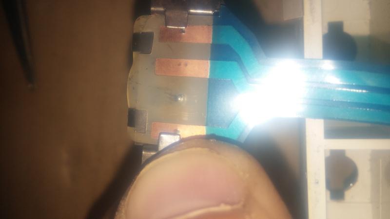 Réparation circuit imprimé compteur 20150512