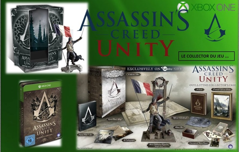 XBOX ONE : Edition ASSASSIN'S CREED UNITY  Assass12