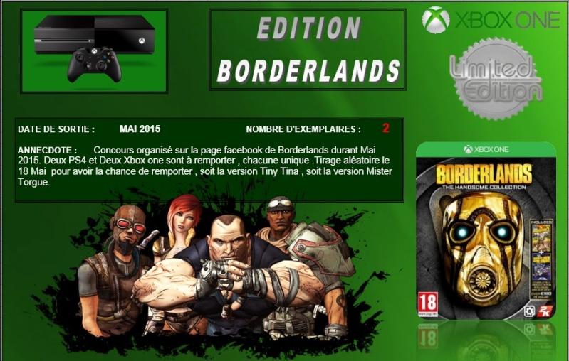 XBOX ONE : Edition BORDERLANDS Border10