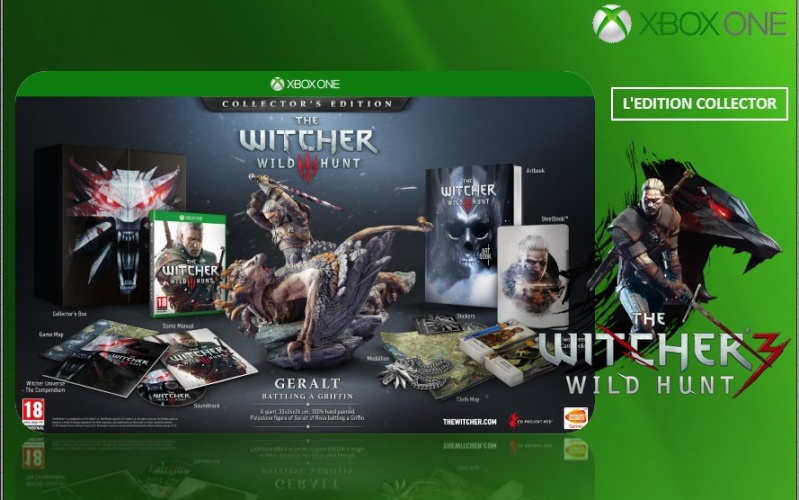 XBOX ONE : Edition THE WITCHER 3 Witche13
