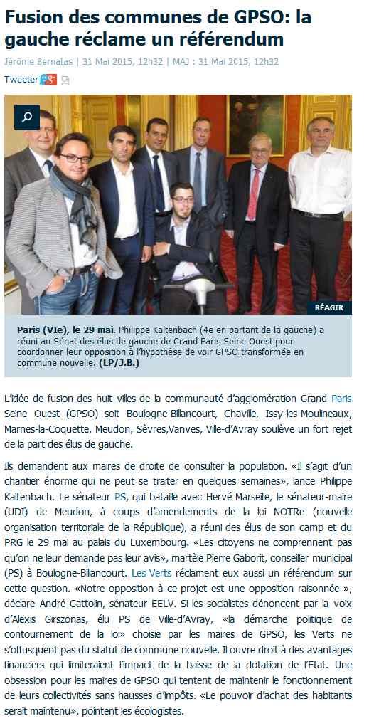 Informations de GPSO Clipbo10