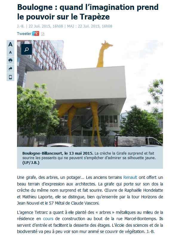 Articles de presse / de sites Internet sur la ZAC Seguin - Rives de Seine Clipbo77