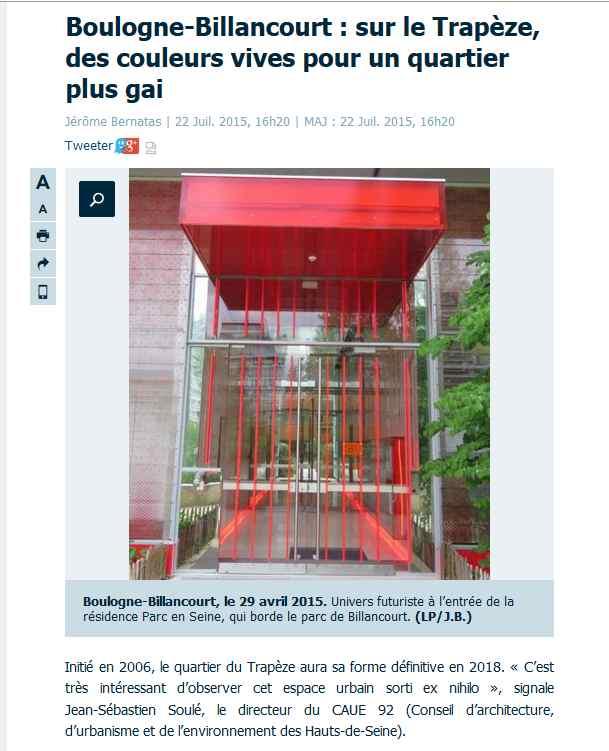 Articles de presse / de sites Internet sur la ZAC Seguin - Rives de Seine Clipbo80