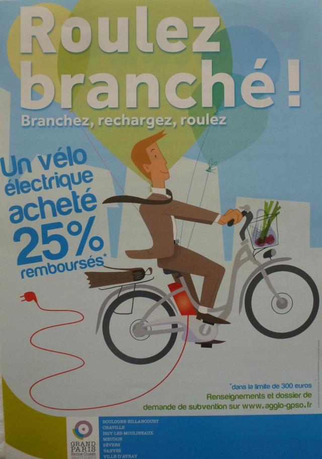 Subvention à l'achat de vélos à assistance électrique P1390229