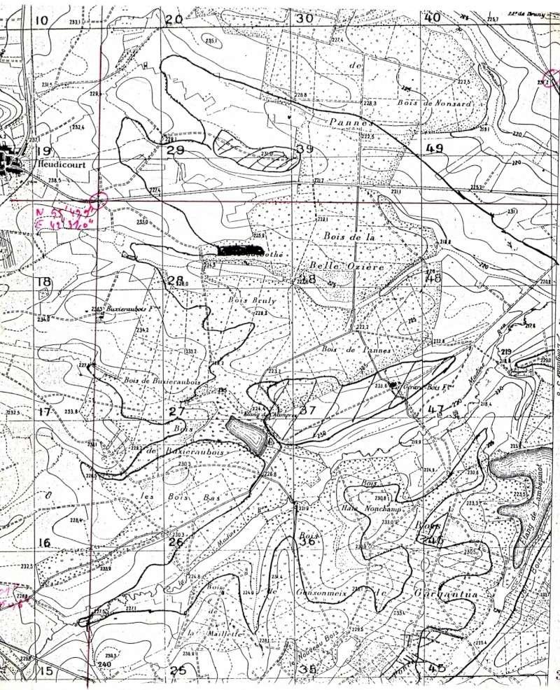 Lowrance sonar log file pour la Moselle et lac Madine Lac_de11