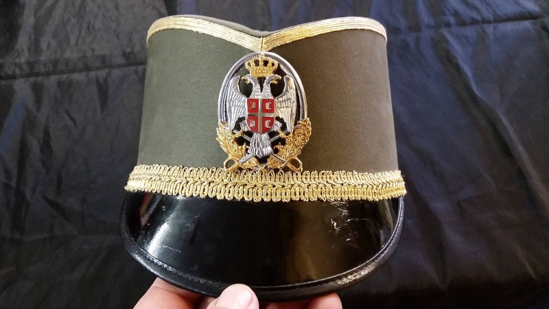 Serbian Officer Cap 11801210