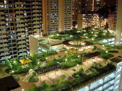 حديقة مميزة على سطح أحد المباني فى سنغافورة. 11401410