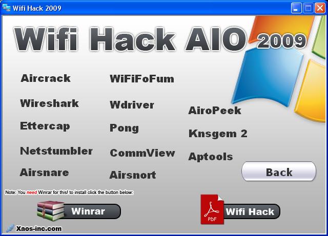 Wifi hack AIO 2009