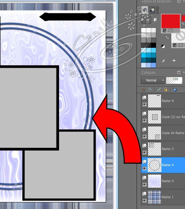 Remplir un Template scrap avec Psp Image123