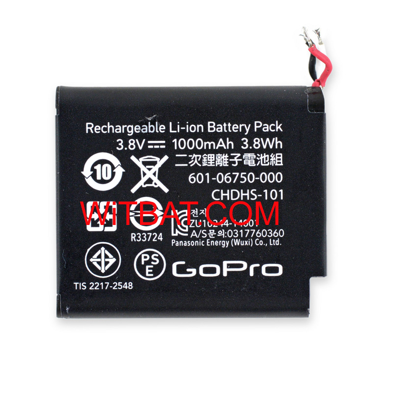 GoPro Hero 4 Session Battery CHDHS-101 601-06750-000 A17