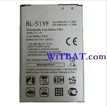LG G4 H815 Battery BL-51YF EAC62818406 Ml-lg112