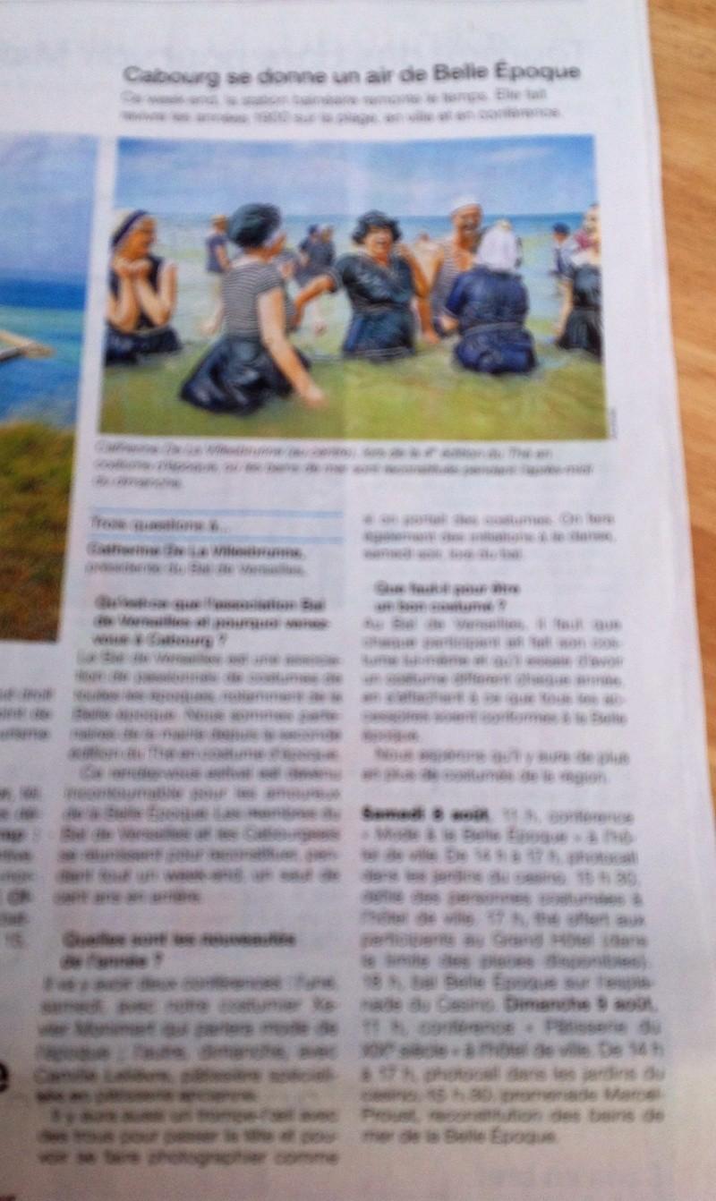 Presse du bal de Versailles - Page 5 Photo113