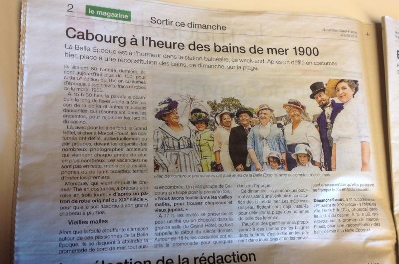 Cabourg à la Belle époque 2015, photos Photo114