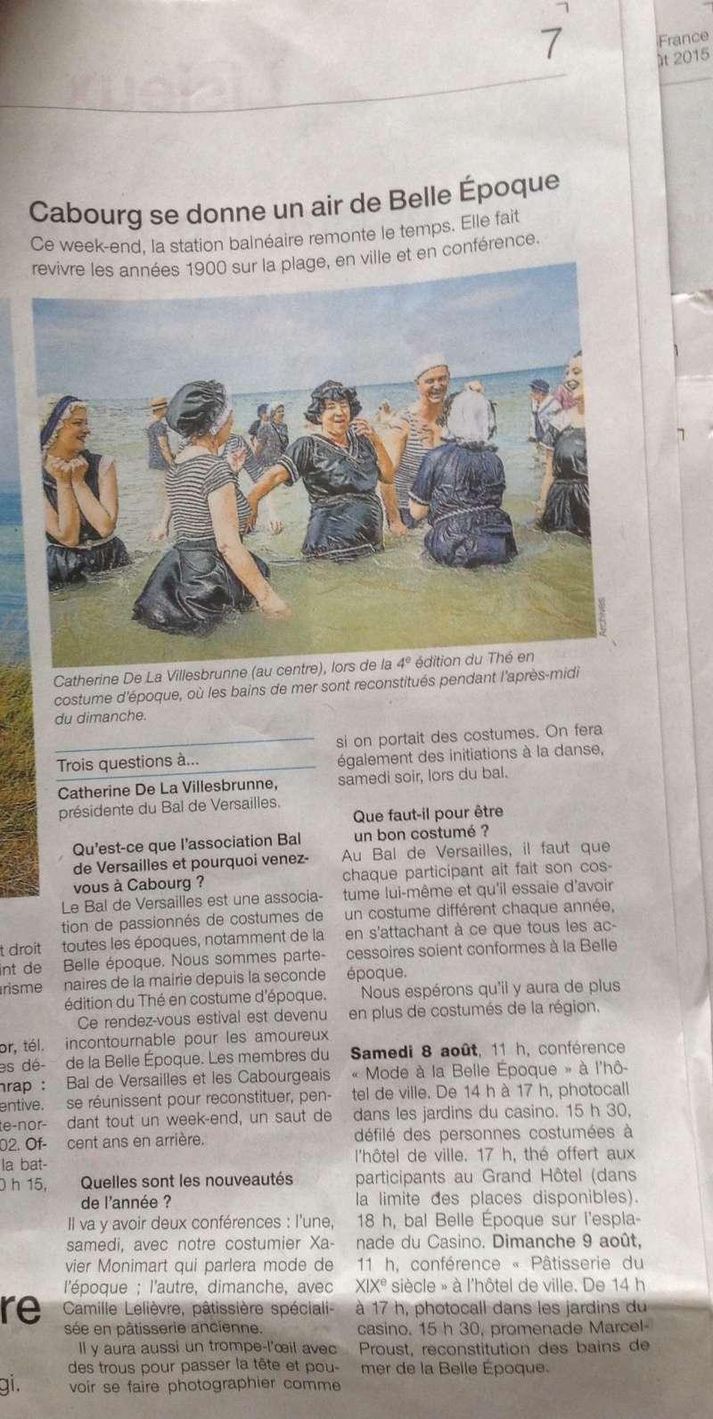 Presse du bal de Versailles - Page 5 Photo118