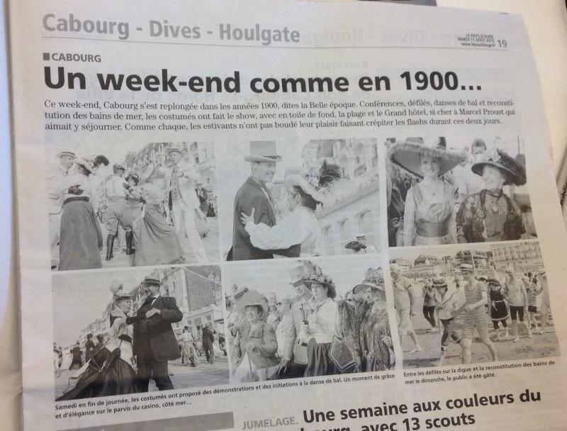 Presse du bal de Versailles - Page 5 Photo119